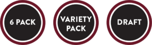 6 pack | Variety Pack | Draft
